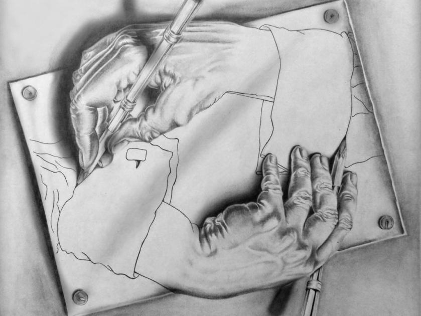 M.C.Escher - Drawing Hands