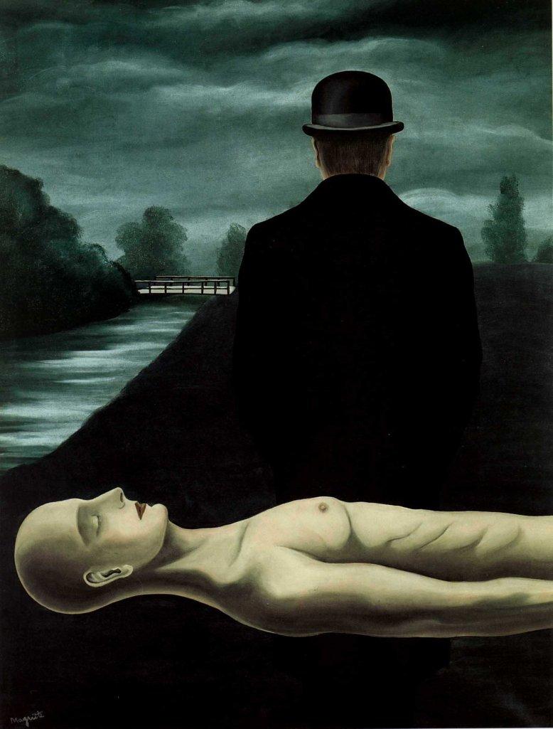 [Clio Team] 1926 Magritte Les Réveries du promeneur solitaire, 139x105 cm
