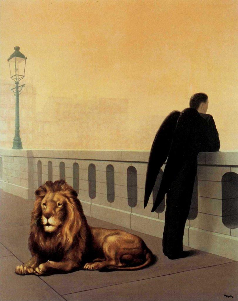 [Clio Team] 1940 Magritte Le Mal du pays 100x81 cm