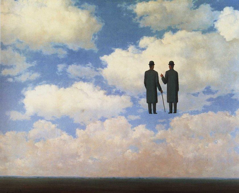 [Clio Team] 1963 Magritte La Reconnaissance infinie, 81x100 cm