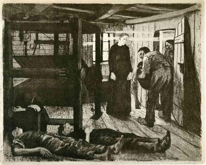 Kathe Kollwitz, The End, 1897